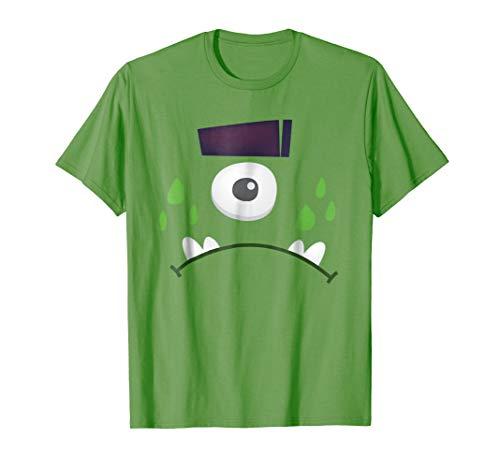 Simple Halloween Costume Monster Ogre Face T-Shirt