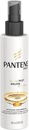 Pantene Pro-V Moisture Mist Hair Detangler Light Conditioning 8.5 oz (Pack of 2) (Mist Conditioning Light)