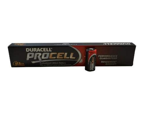 Duracell Procell 3-volt Lithium Battery - Model PL123A-12 pack bulk Duracell Ultra Lithium Battery