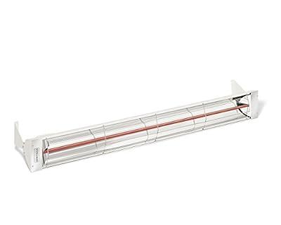 Infratech W4024SS Single Element - 4000 Watt Electric Patio Heater, Choose Finish: Stainless Steel