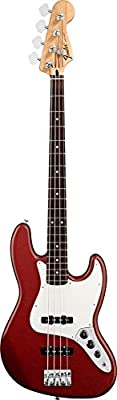 Fender Standard Jazz Electric Bass Guitar - Maple Fingerboard, Arctic White by Fender Musical Instruments Corp.