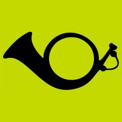 Sudadera con capucha de mujer Post Horn by Shirtcity verde limón