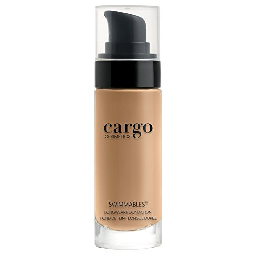Cargo Cosmetics - Swimmables Longwear Foundation, Buildable, Water Resistant Foundation, Medium to Full Natural Coverage, 30 (Best Water Resistant Foundation)