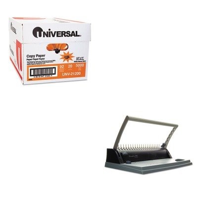 KITSWI7706170UNV21200 - Value Kit - Swingline BindMate Binding System (SWI7706170) and Universal Copy Paper (UNV21200)