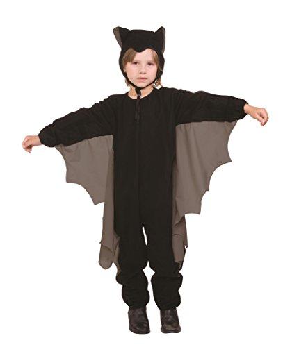 Cute - T- Bat Wings Child Costume, Grey (Medium) ()