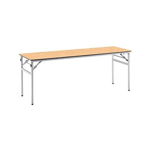 コクヨ(KOKUYO) ミーティングテーブル フォールディングテーブル KT-220 W1800×D600×H700mm KT-S221 ライトナチュラル B076527D7Sライトナチュラル
