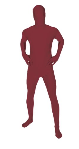 Morphsuits Halloween (Original Morphsuit Fancy Dress Costume ,Maroon, X-Large)