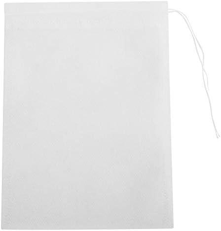 [해외]Teabags50pcs Non-Woven Drawstring Tea Bags Seal Filter Herb Spice Pouch (10x12cm) / Teabags,50pcs Non-Woven Drawstring Tea Bags Seal Filter Herb Spice Pouch (10x12cm)