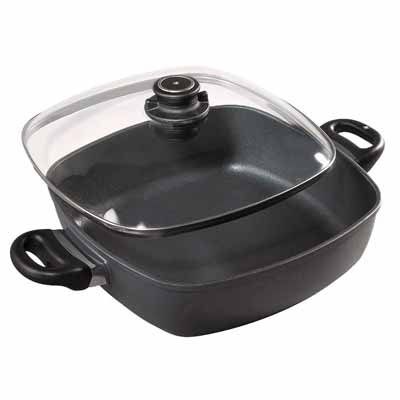 Swiss Diamond Induction Nonstick Square Casserole - 5 qt (11 x 11