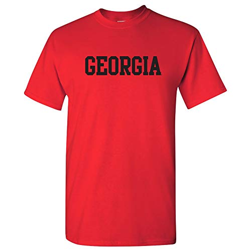ogs Basic Block T-Shirt - X-Large - Red ()