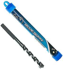 BLUE BOAR 1//4 x 3 3//4 Flat Wood Spade Pilot Bit in plastic tube