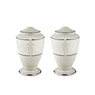 Lenox Pearl Innocence Salt and Pepper Shaker Set, S&P, Ivory