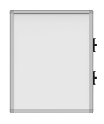 Luxor 18.75''W x 23.3''H Attachable Double Sided Small WhiteBoard for Collaboration Station - 4 Pack by Luxor