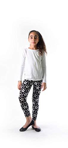 Dinamit Jeans Girl's Fun Printed Leggings Big Dixie Flower S -