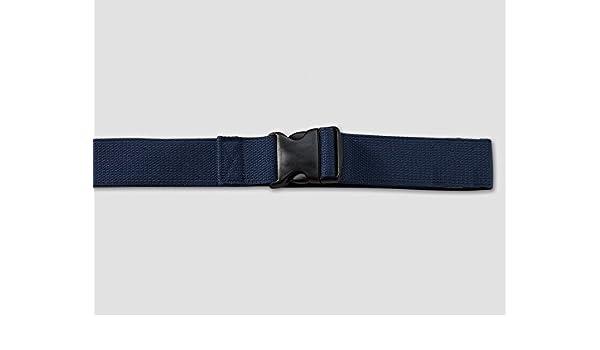 48 Length 2 Width Kinsman Enterprises 80345 Gait Belt with Metal Buckle 4 Rainbow