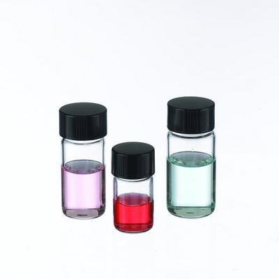 6 mL Capacity Pack of 200 Wheaton Science Products W225293 Clear Borosilicate Glass Lab File Shorty Sample Vial with Phenolic Rubber Lined Screw Cap