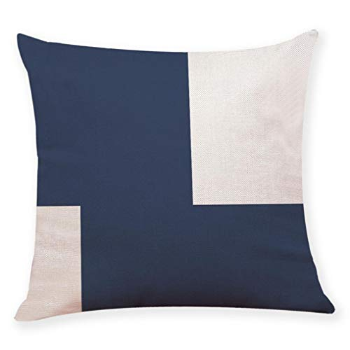 Standard Floor Monitor (OCASHI Square Decorative Throw Pillow Covers,Soft Dark Blue Style Cushion Cases for Couch Sofa Bed Car 18 X 18 inches (45 X 45cm, D))