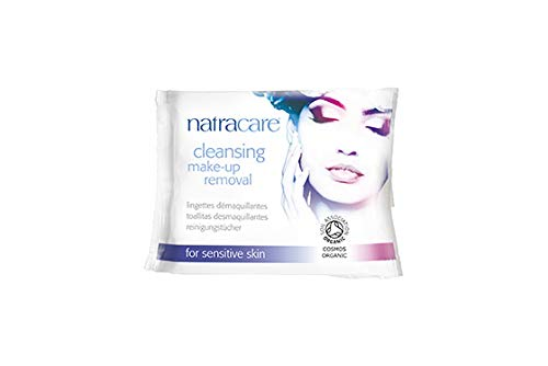 Natracare Organic Cleansing Make Up Removal Wipes 20 per pack (PACK OF 2)