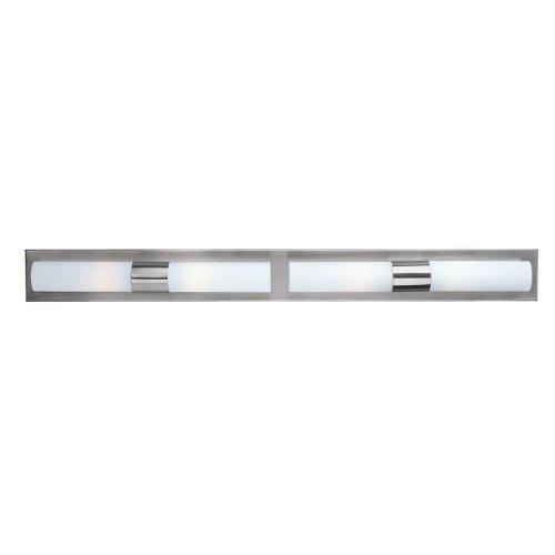 et2 e5300811 cilandro glass wall vanity lighting 4 light 240 total watts halogen chrome vanity lighting