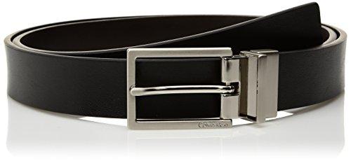 Calvin Klein Women's Reversible Belt, Black/Brown, S