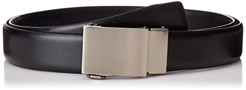 Exact Fit Men's 1.3 in Wide Click To Fit Belt With Plaque...