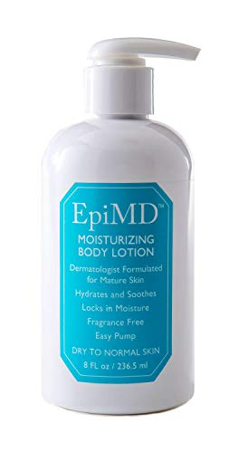 EpiMD Moisturizing Body Lotion for Dry Aging, Maturing Skin Ceramide and Botanical Barrier Formula Dermatologist Created,Tested and Approved (8oz)