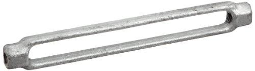 nized Steel Turnbuckle Body Only, 3/8