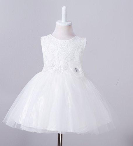 baile del del de Vestidos formales del Bautismo la Blanco partido del niña bautizo ZAMME bautismo wFgX4Tqw