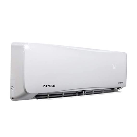 PIONEER Air Conditioner Inverter+ Ductless Wall Mount Mini Split System Air Conditioner & Heat Pump Full Set 3 Ultra high efficiency inverter+ ductless mini split heat pump system Cooling capacity: 9, 000 BTU/H with 17.0 SEER efficiency Heating capacity: 9, 500 BTU/H with 9.0 hspf efficiency