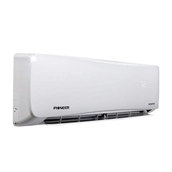 PIONEER Air Conditioner Pioneer Mini Split Minisplit Heatpump 9000 BTU-110/120 V 3 <p>Ultra high efficiency inverter+ ductless mini split heat pump system Cooling capacity: 9, 000 BTU/H with 17.0 SEER efficiency Heating capacity: 9, 500 BTU/H with 9.0 hspf efficiency Voltage: 110~120 VAC, 60 hertz (standard household power, l-n-g) Please see the active links on this page for full specks, manuals, etc</p>
