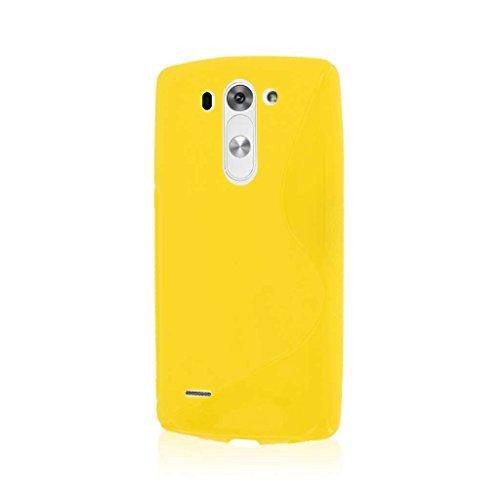 lg g3 case yellow - 1