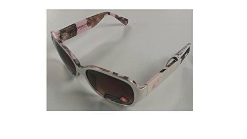 Mossy Oak Pink Infinity Camo Women's Draw Silver Frame/Brown Lens Wayfarer 50mm - Sunglasses Oak