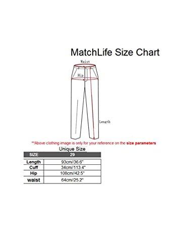 Doux Nouveau Emaille Lin Femme MatchLife Pantalon Coton Sarouel Rouge vq1UzpPw