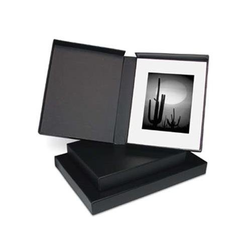 Black Clamshell Portfolio - Print File Black Clamshell Portfolio Print Box 11.25x14.25x2