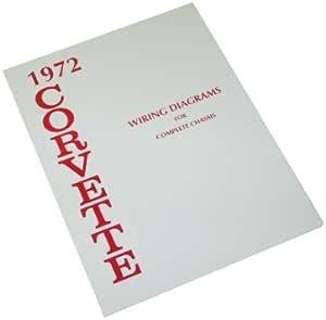 Amazon.com: 1972 Corvette Wiring Diagram Book: Automotive