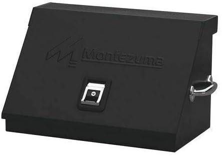 "Black Portable Tool Box, Powder Coated, Sm200b 22-1/2""W Steel"