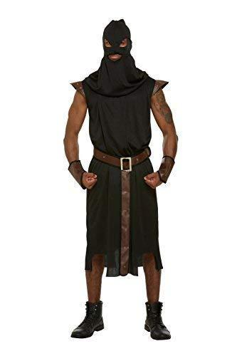 Hombre Adulto Verdugo Medieval MAESTRO DE MAZMORRAS Disfraz ...