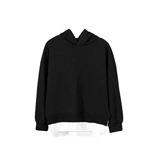 Kinderen Capuchontrui Outfit, Kleur Blok Hoodie Jacket For Kids