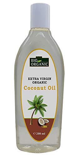 Indus Valley Bio Organic extra virgin organic coconut oil for hair and skin care (200ml)