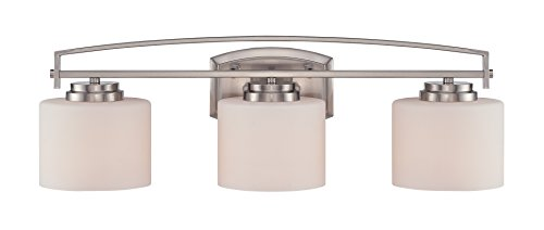 Designers Fountain 86203-SP Axel 3 Light Bath Bar