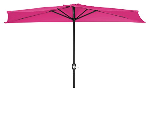 Trademark Innovations Patio Half Umbrella