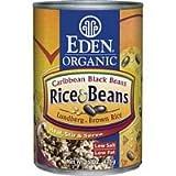 Eden Foods Caribbean Rice & Black Beans (12x15 Oz) ( Multi-Pack)