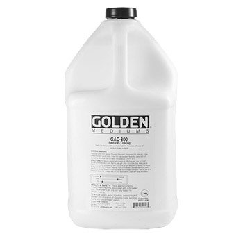 Golden Acryl Med 128 Oz Gac-800 Acrylic by Golden