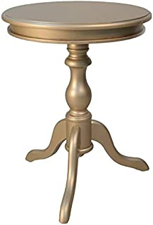 product image for Carolina Chair & Table Gilda Side Table, Champagne