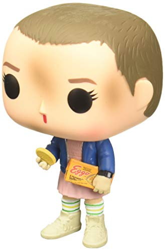 - Funko Pop Stranger Things Eleven with Eggos Vinyl Figure , Styles May Vary - With/Without Blonde Wig
