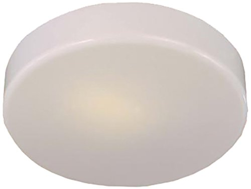 Minka Lavery 866-44-PL, Round Energy Star Flush Mount Lighting, 1 Light, 13 Watts Fluorescent, White