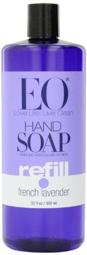EO мыло для рук Refill, французский лаванда, 32 унций (в упаковке 2)