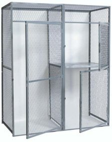 Hallowell, Single Tier Storage Lockers - Starter Units, H-P3-Wmsts, W X D X H: 3 X 5 X 7-1/2