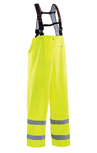 Grundéns Petrus HD 16 Fishing Bib Pants, Reflective Yellow - Medium