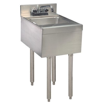 12'' x 21'' Single Hand Sink, Underbar by Advance Tabco